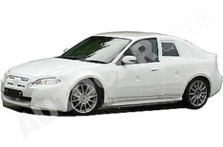 Subaru Legacy spied in UK