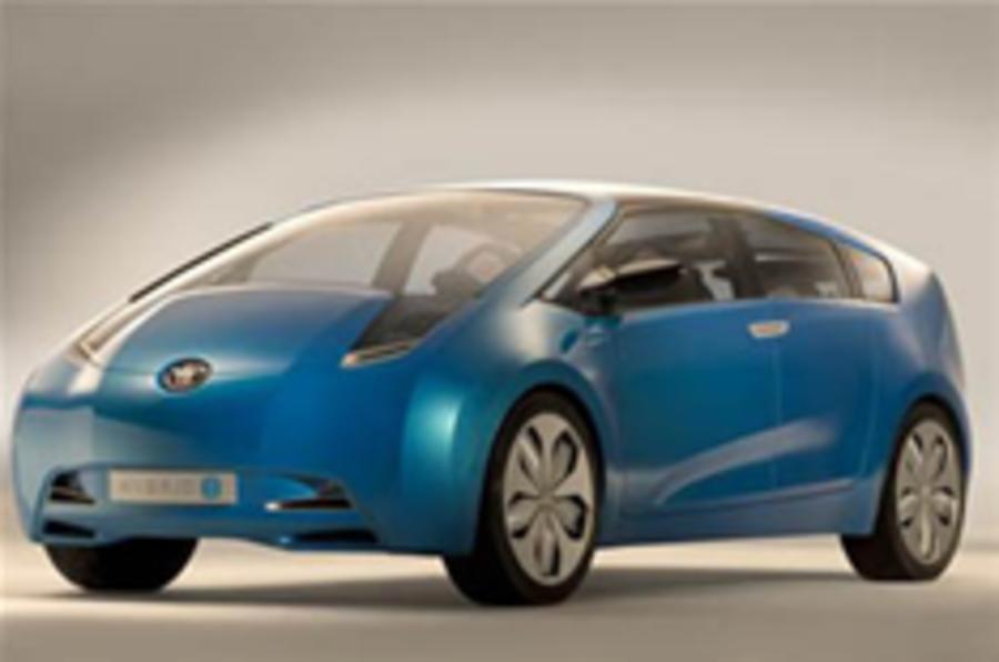Prius-based Lexus for Detroit