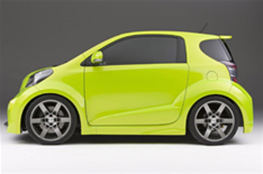 Scion iQ gets US go-ahead