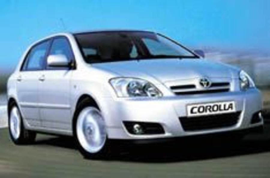 Toyota tweaks Corolla's looks