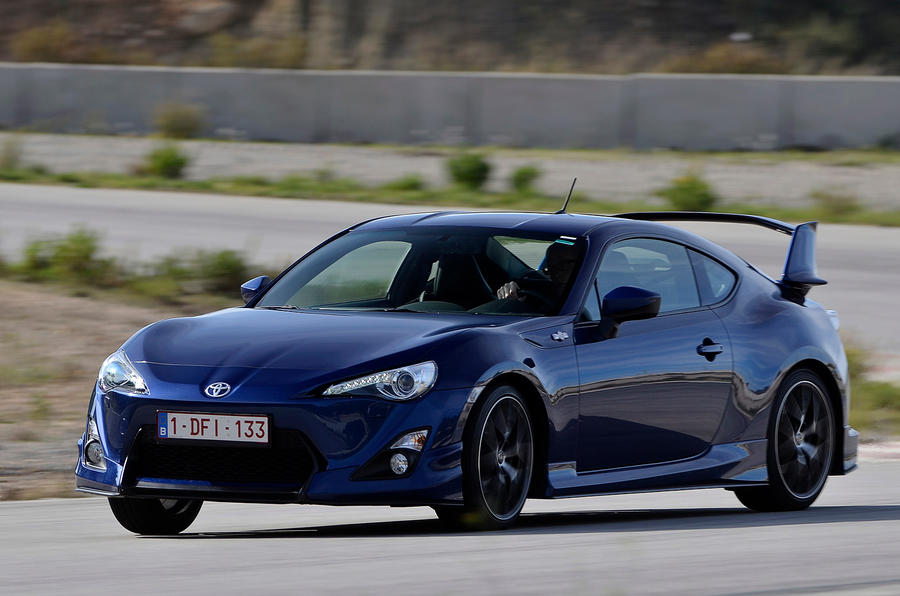 Toyota GT86 Evolution cornering