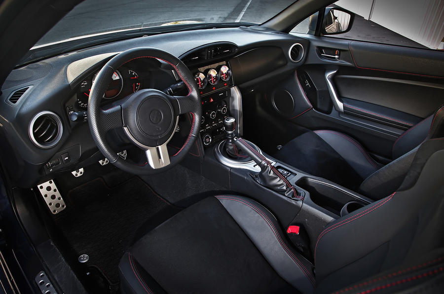 Toyota GT86 Evolution dashboard