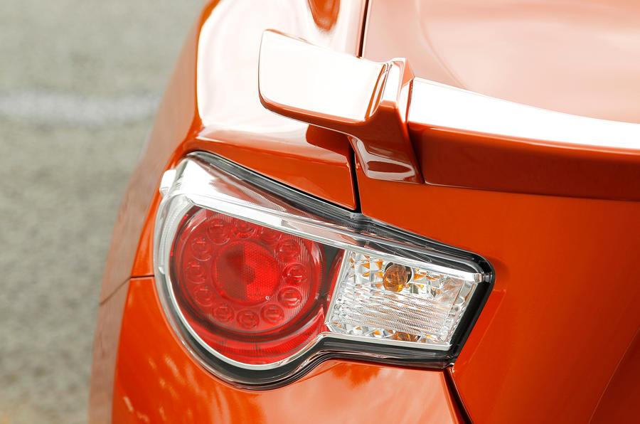 Toyota GT86 rear lights