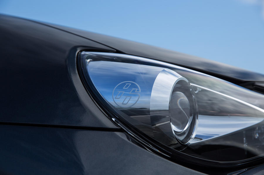 Toyota GT86-badged headlights