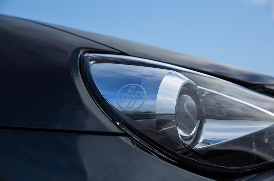 Toyota GT86-badged headlights