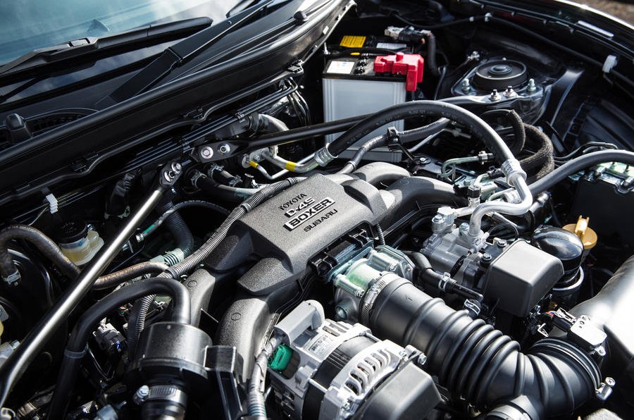 2.0-litre Toyota GT86 petrol engine