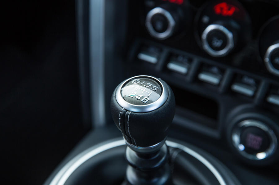 Toyota GT86 manual gearbox