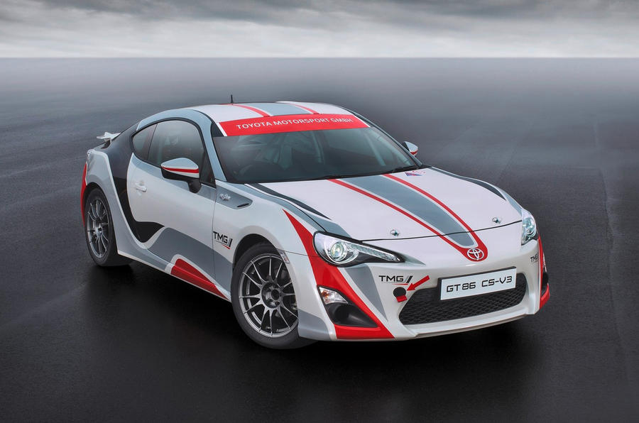 Toyota GT86 WRC car in development