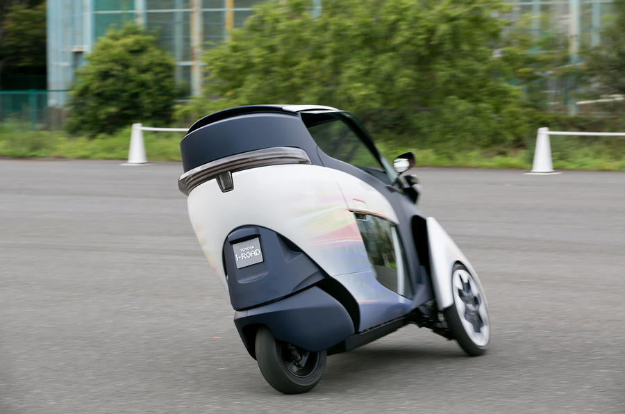 Toyota i-Road first drive review