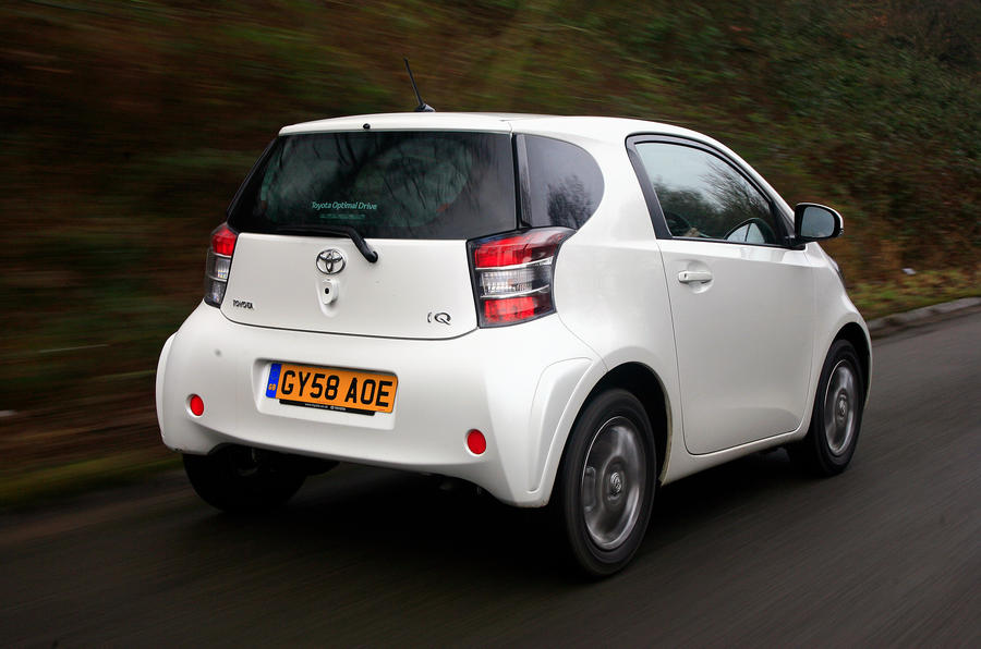 Toyota iQ rear quarter