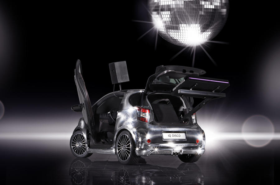 Toyota's one-off iQ Disco