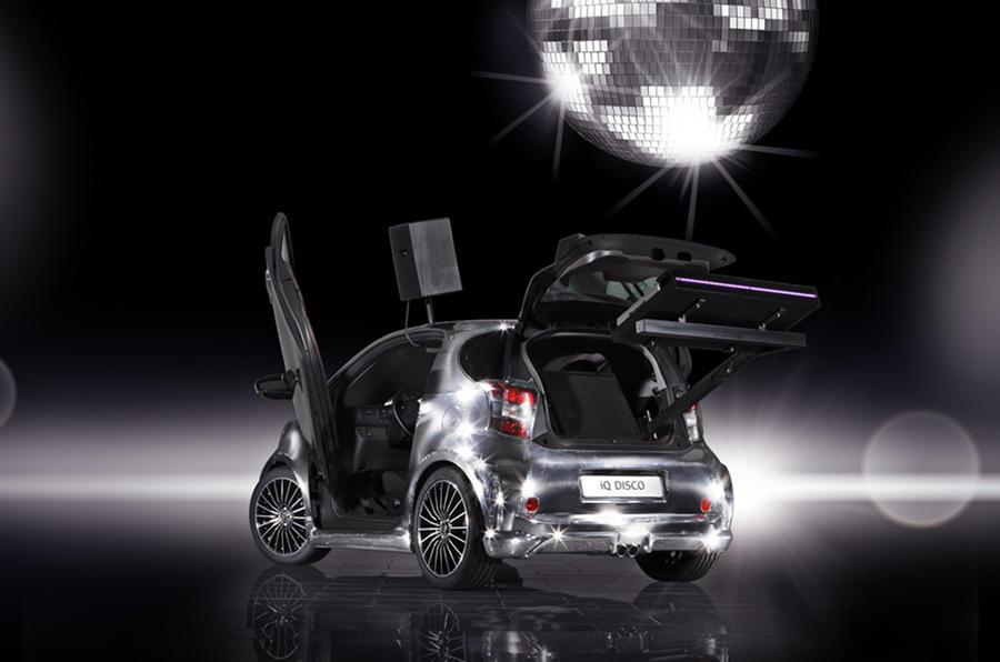 Toyota's one-off iQ Disco