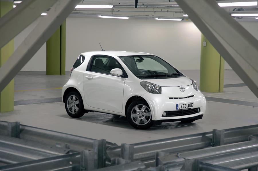 Toyota IQ interior  Autocar