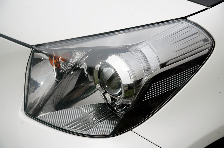 Toyota iQ xenon headlight