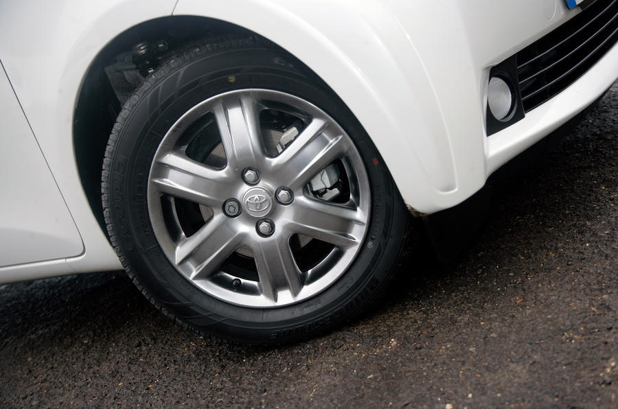 15in Toyota iQ alloy wheels