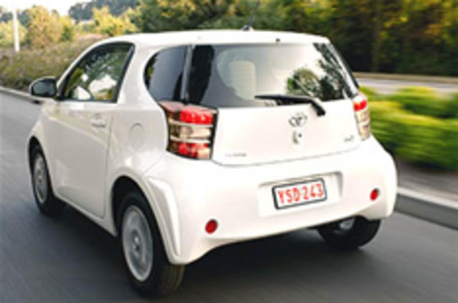 Toyota iQ prices announced