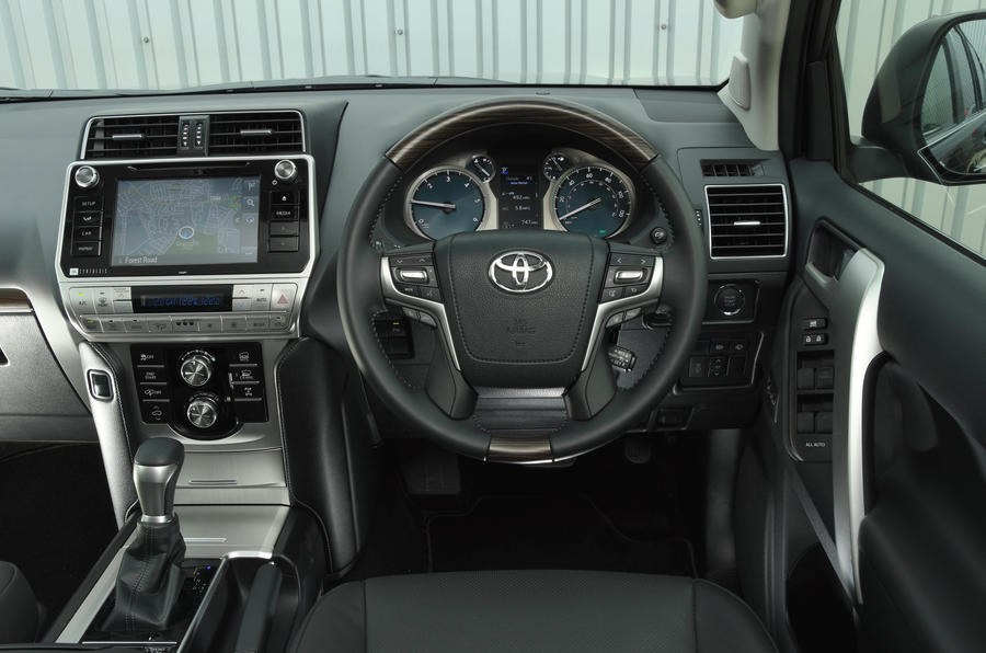 Toyota Land Cruiser 2018 review cabin