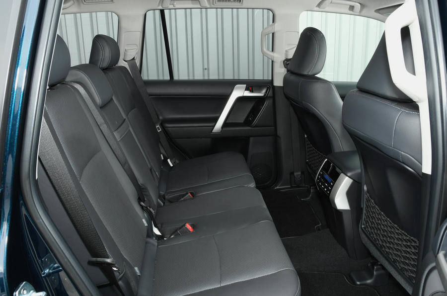 Toyota Land Cruiser 2018 review rear seats