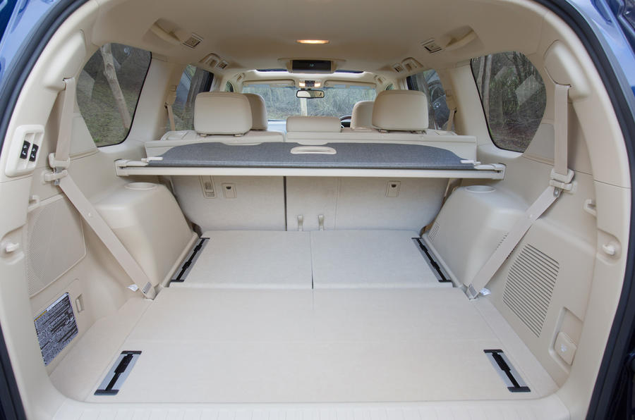Toyota Land Cruiser boot space