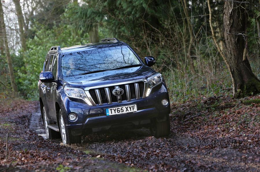 Toyota Land Cruiser off-roading