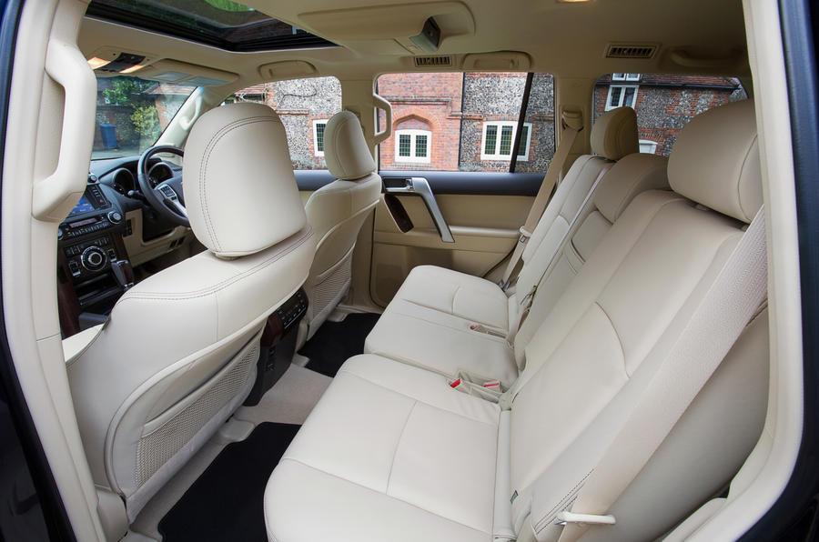 Toyota Land Cruiser rear seats