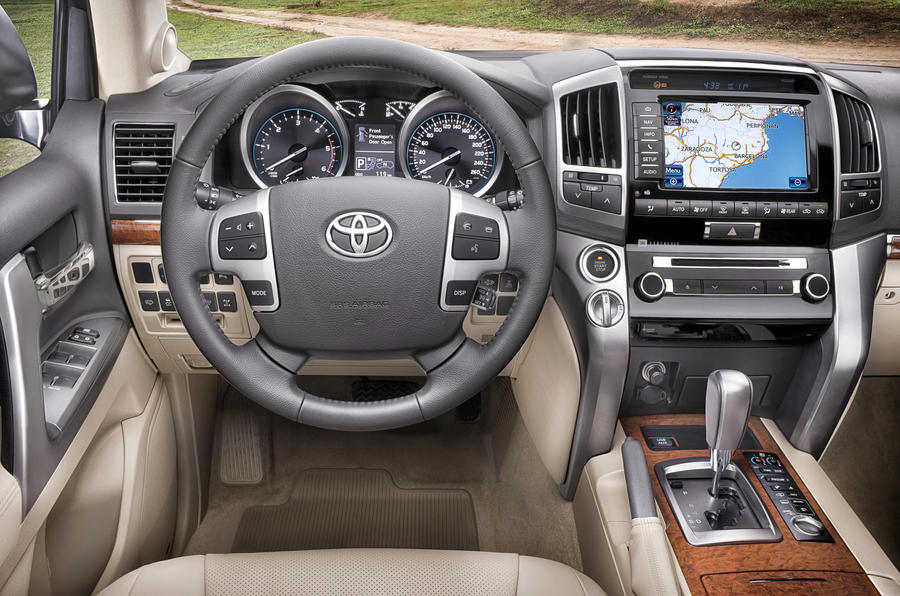 Toyota Land Cruiser V8 Prices Announced on vibration control