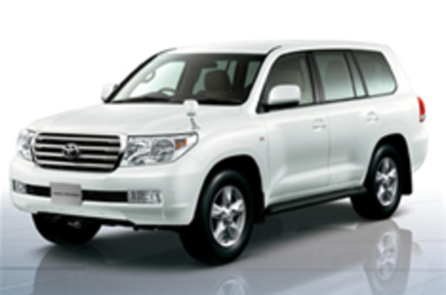 Toyota refreshes Range Rover rival