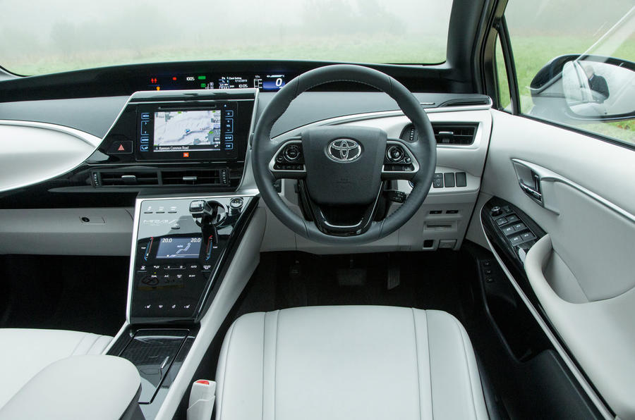 mirai toyota interior hydrogen autocar future independent
