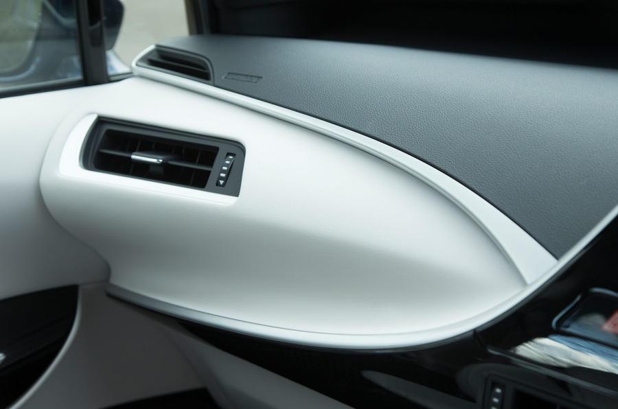 Toyota Mirai carbonfibre weave