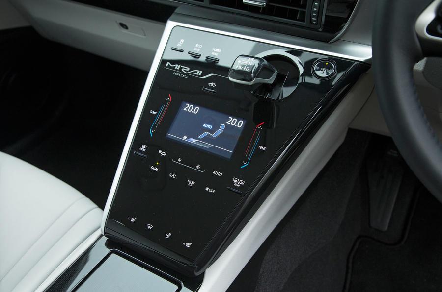 Toyota Mirai centre console