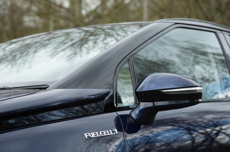 Toyota Mirai A-pillar
