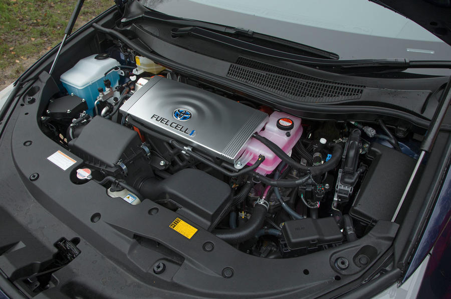 Toyota Mirai fuel cell engine