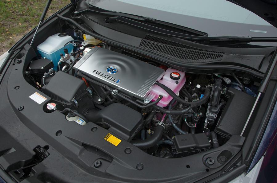 Toyota Mirai fuel cell engine
