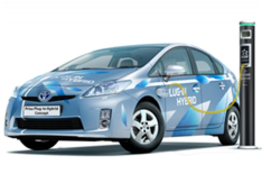 Frankfurt motor show: Prius plug-in