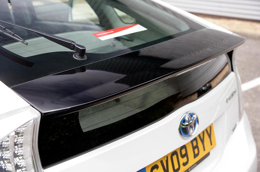 Toyota Prius rear spoiler