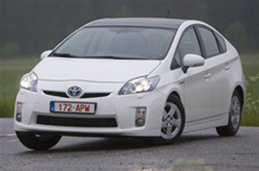 Prius production increased