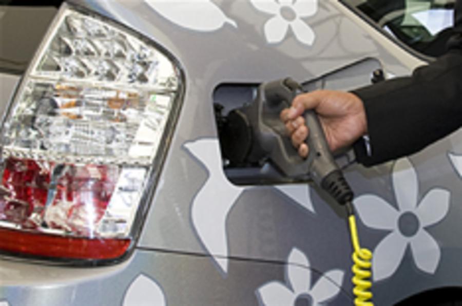 Toyota trials plug-in hybrid