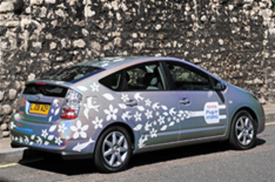 Prius trials 2012 battery plans