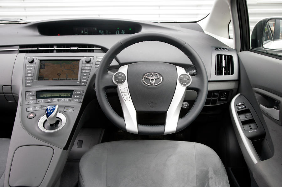 Toyota Prius Interior Autocar