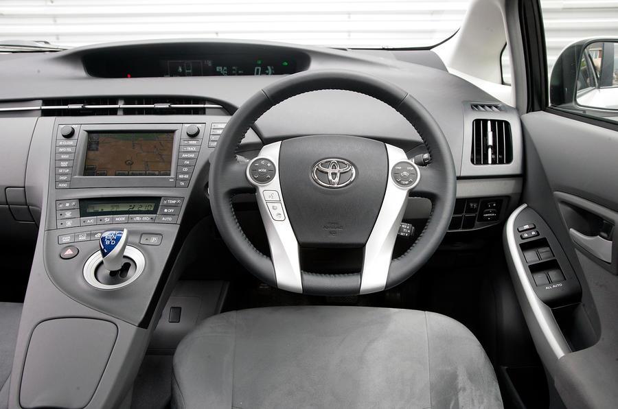 Toyota Yaris 2015 Review Toyota Prius interior | Autocar