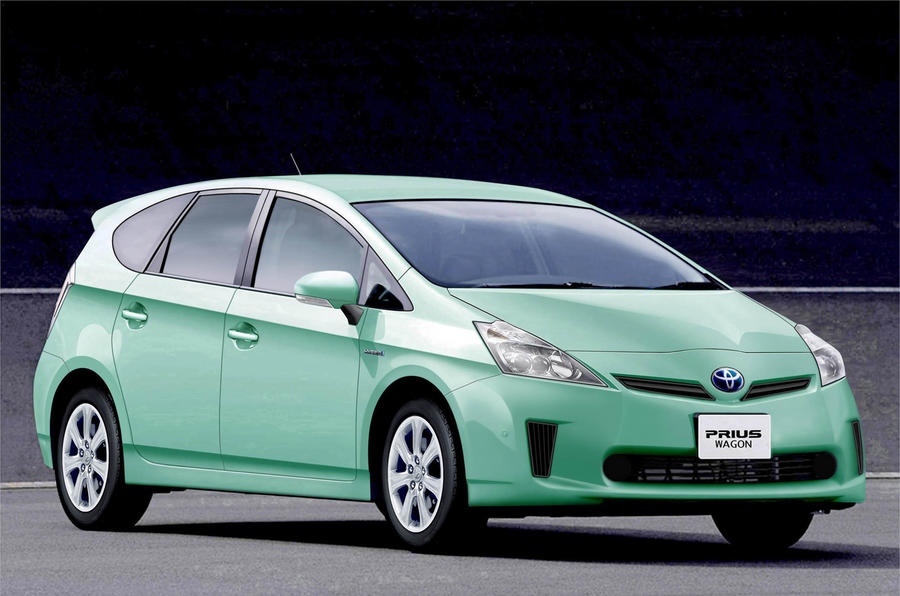 Toyota's seven-seat Prius MPV