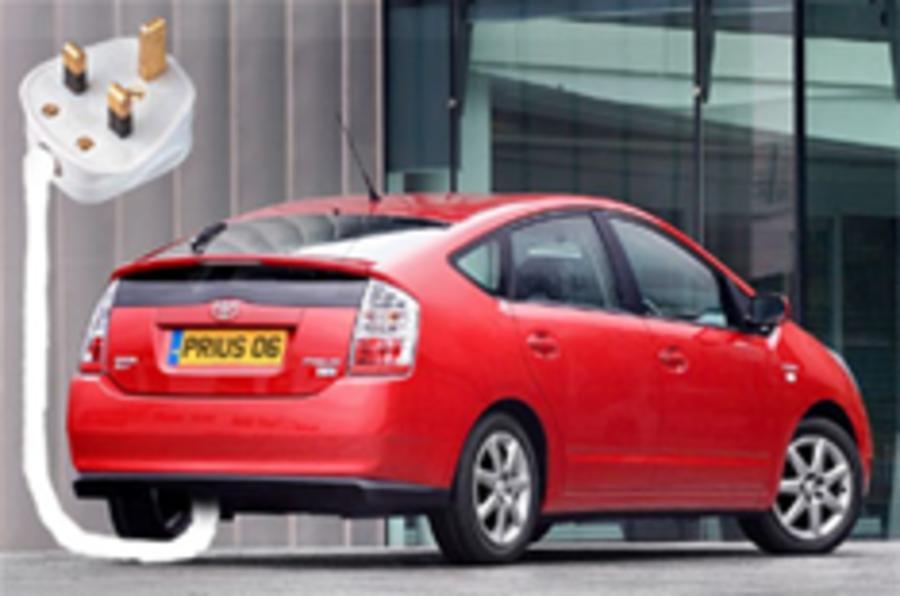 Toyota starts testing plug-in Prius