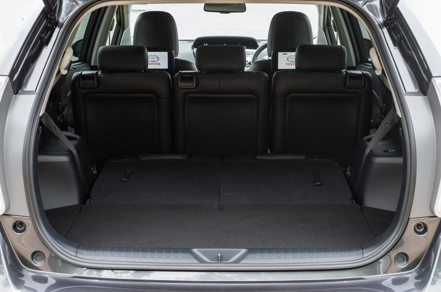 Toyota Prius+ boot space