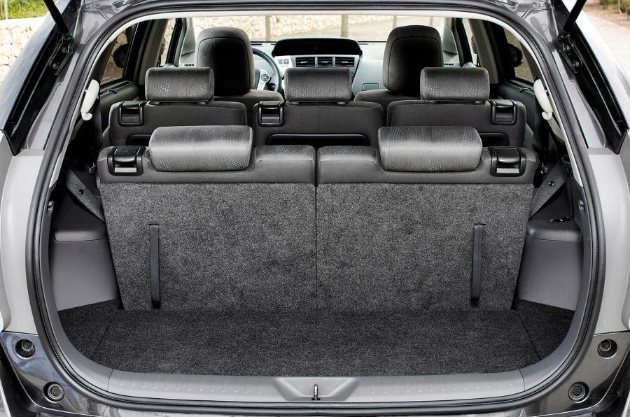 Toyota Prius+ third row seats