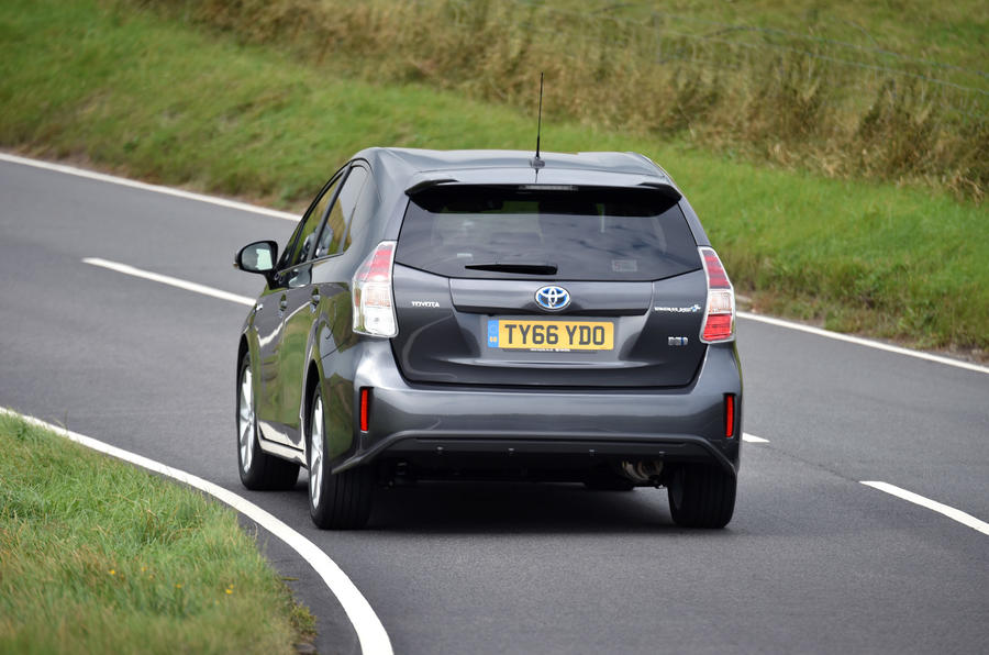 Toyota Prius+ rear