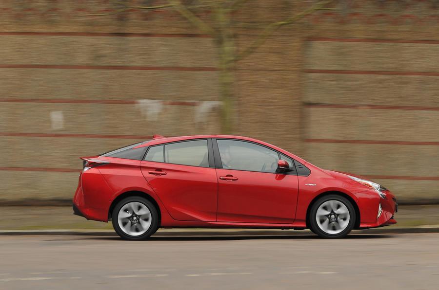 Toyota Prius side profile