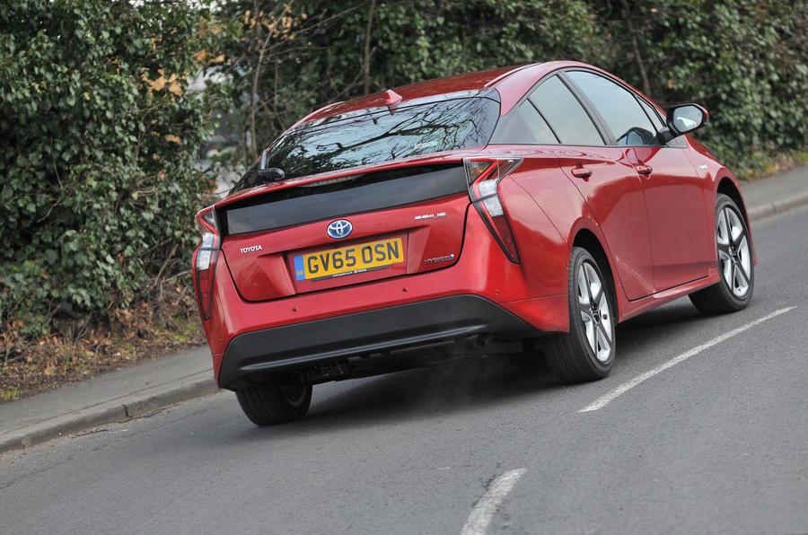 Toyota Prius rear end