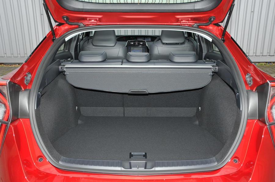Toyota Prius flexible seating