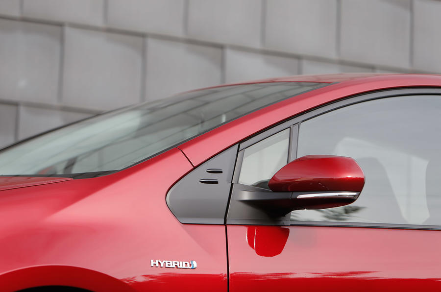 Toyota Prius A-pillar