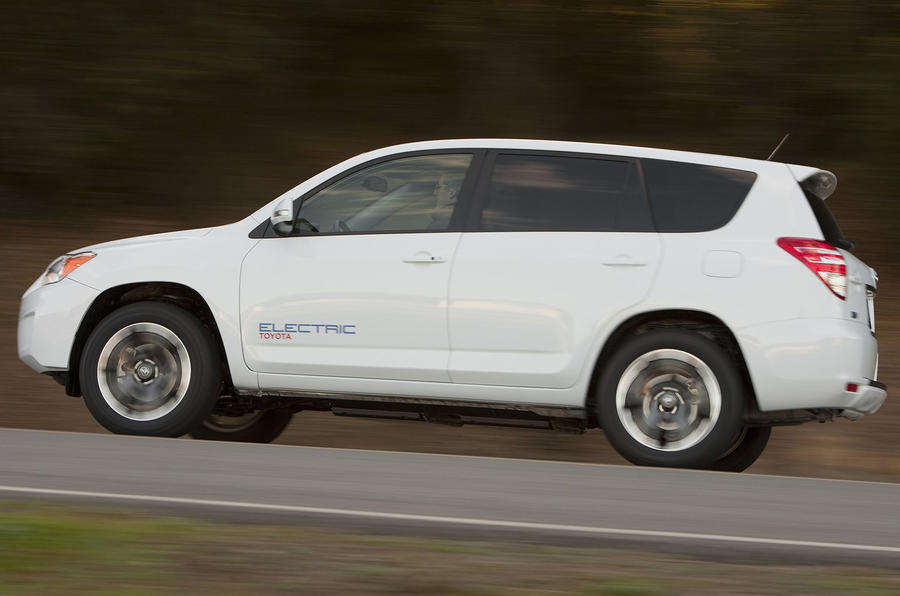 Electric Toyota Rav4 for 2012